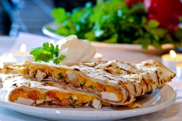 Quesadilla Mexicana (Veggie)