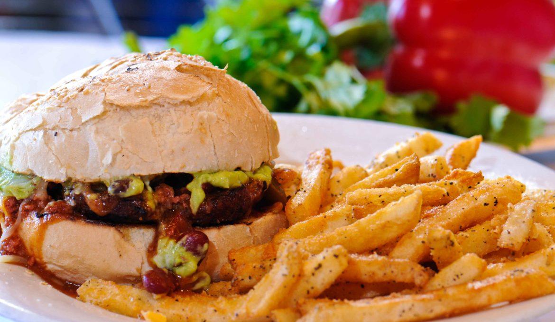 Mex Burger + Fries