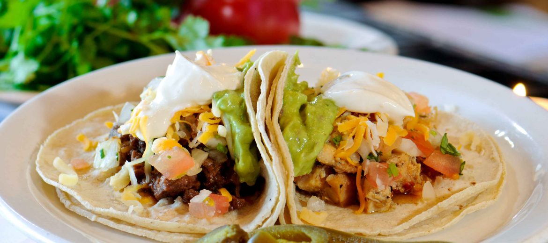 Two Tacos (Veggie)